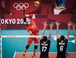 حذف والیبال ایران از المپیک توکیو