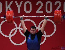 علی داودی موفق به کسب مدال نقره وزنه برداری المپیک توکیو شد