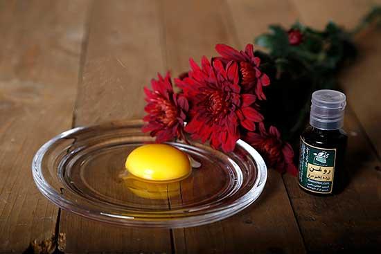 خواص باورنکردنی روغن تخم مرغ بر پوست